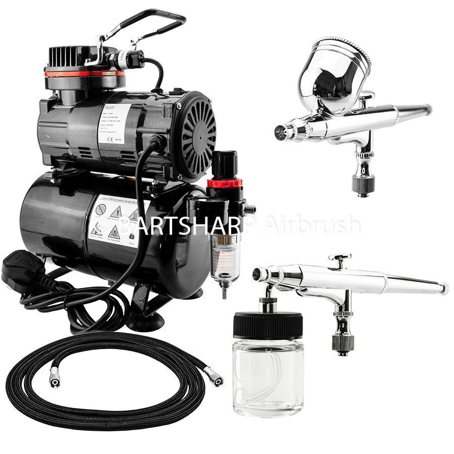 Airbrush Compressor Complete Kit