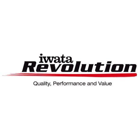BARTSHARP Airbrush Iwata Revolution Logo