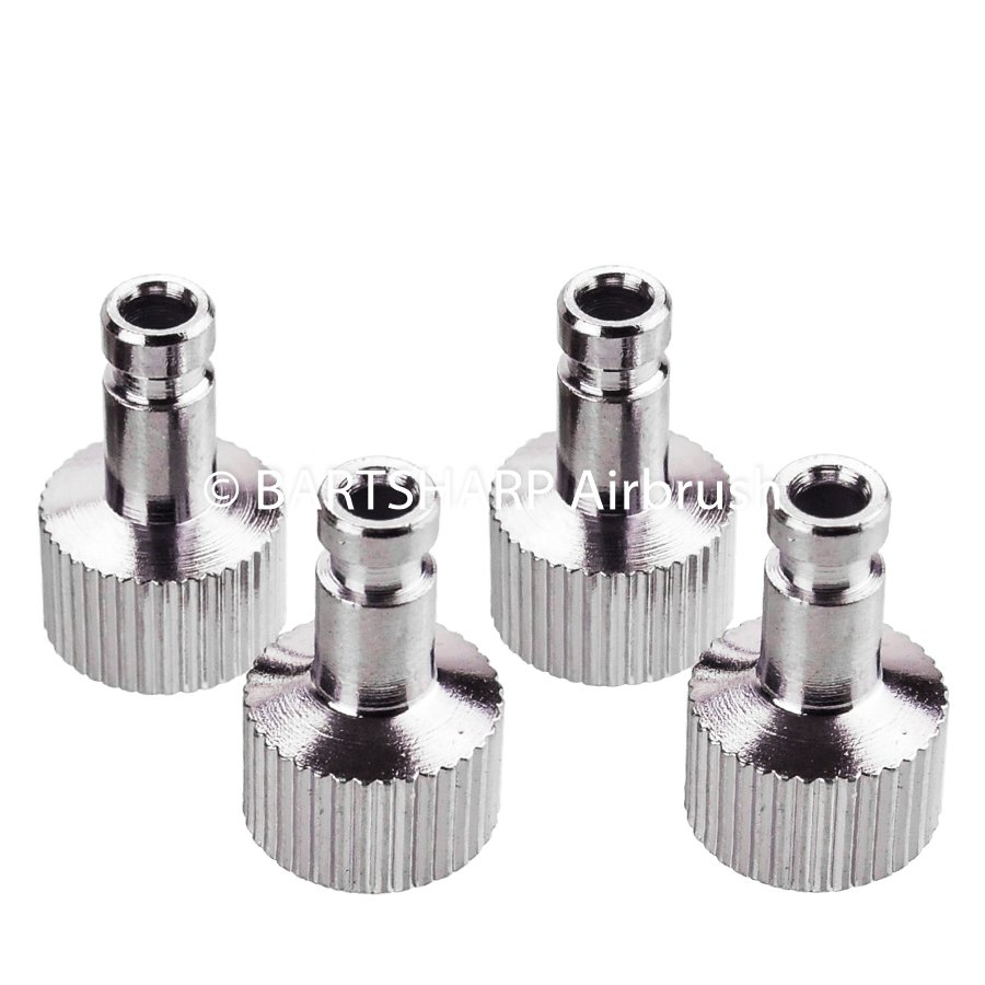 1 x Airbrush Air Hose Quick Release Coupler 1//8 BSP Thread Most Recommended