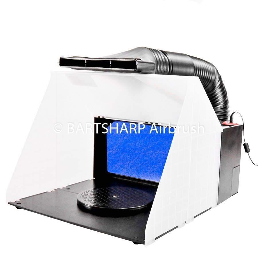 BARTSHARP Airbrush Spray Booth DCK