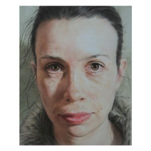 Luisa watercolour by Alexander Fort using BARTSHARP 180 Airbrush
