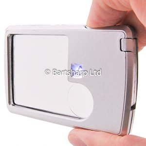 BARTSHARP Airbrush Credit Card Sized Magnifier