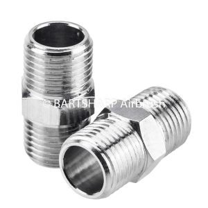 BARTSHARP Airbrush Air Hose Connector 1 Eighth BSP Male to 1 Eighth BSP Male