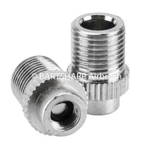 BARTSHARP Airbrush Air Hose Connector 1 Eighth BSP Male to 5mm Female