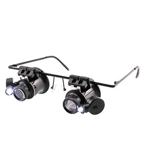 BARTSHARP Airbrush Magnification Glasses 9892A 11 Double Lens