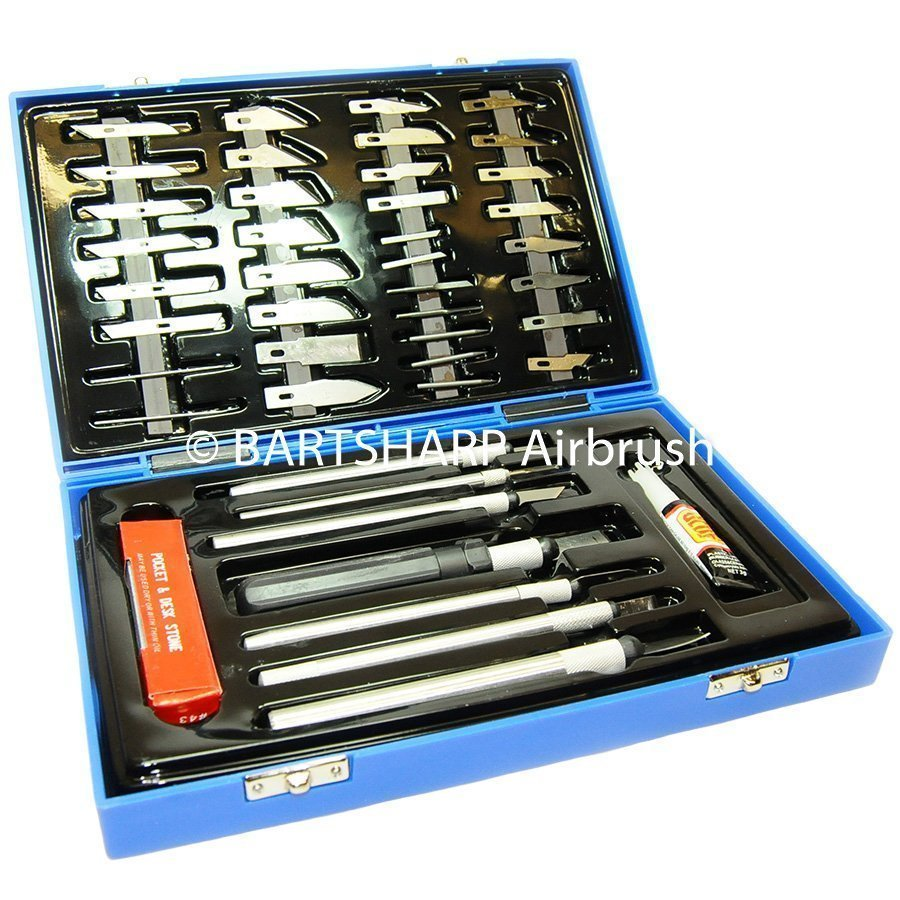 BARTSHARP Airbrush Craft Knife Set