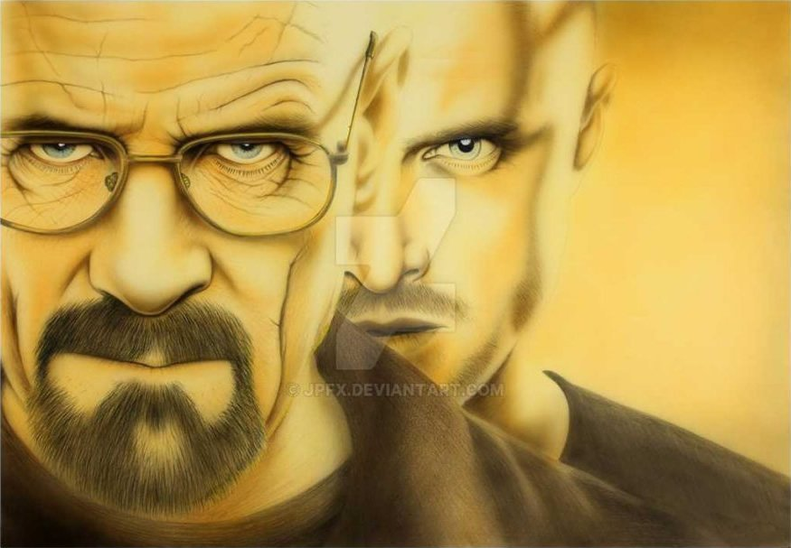 Breaking Bad By JP fx Ltd Using Bartsharp 180 Airbrush