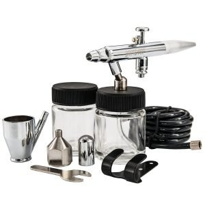 BARTSHARP Airbrush 128 Single Variable Action Siphon Feed