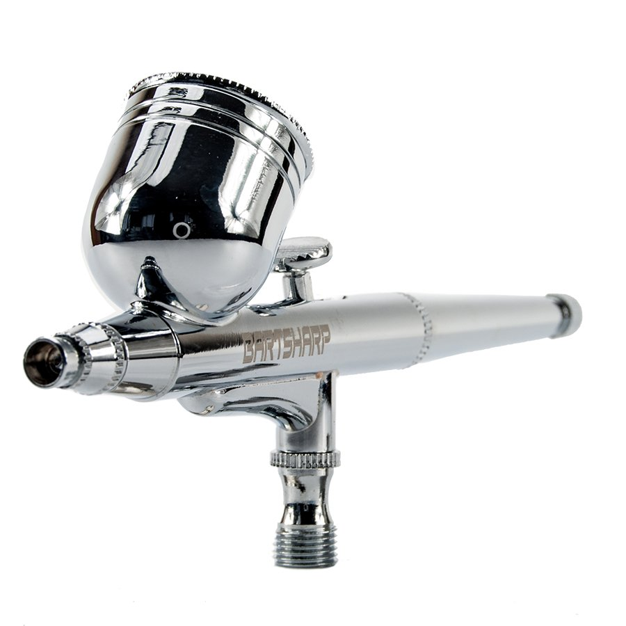 BARTSHARP Airbrush 130 Dual Action Gravity Feed