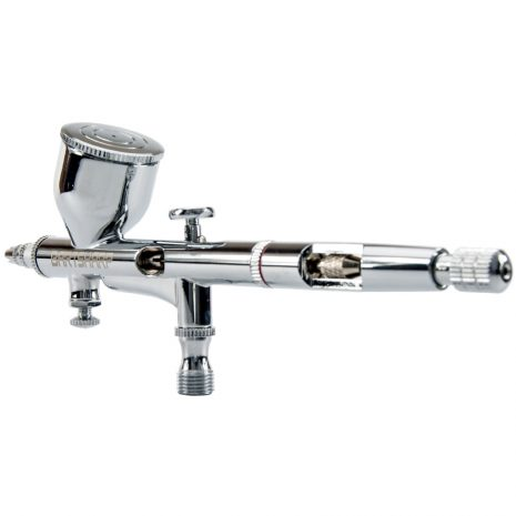 BARTSHARP Airbrush 180S Dual Action Gravity Feed Airbrush Kit