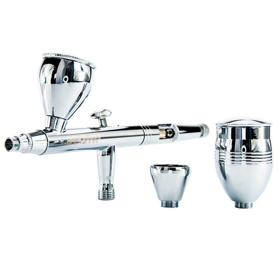 BARTSHARP Airbrush 183 Dual Action Gravity Feed 0.3, 0.5, 0.8mm