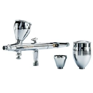 BARTSHARP Airbrush 186 Dual Action Gravity Feed Airbrush