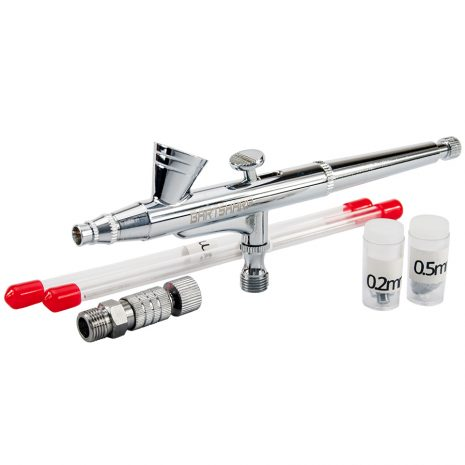 BARTSHARP Airbrush135S Kit Dual Action Gravity Feed
