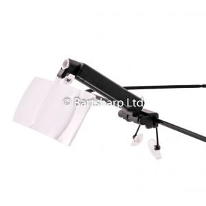 Head Worn Magnification With LED Light