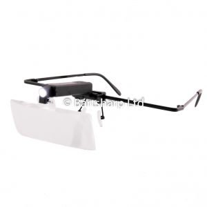 Head Worn Magnification Glasses