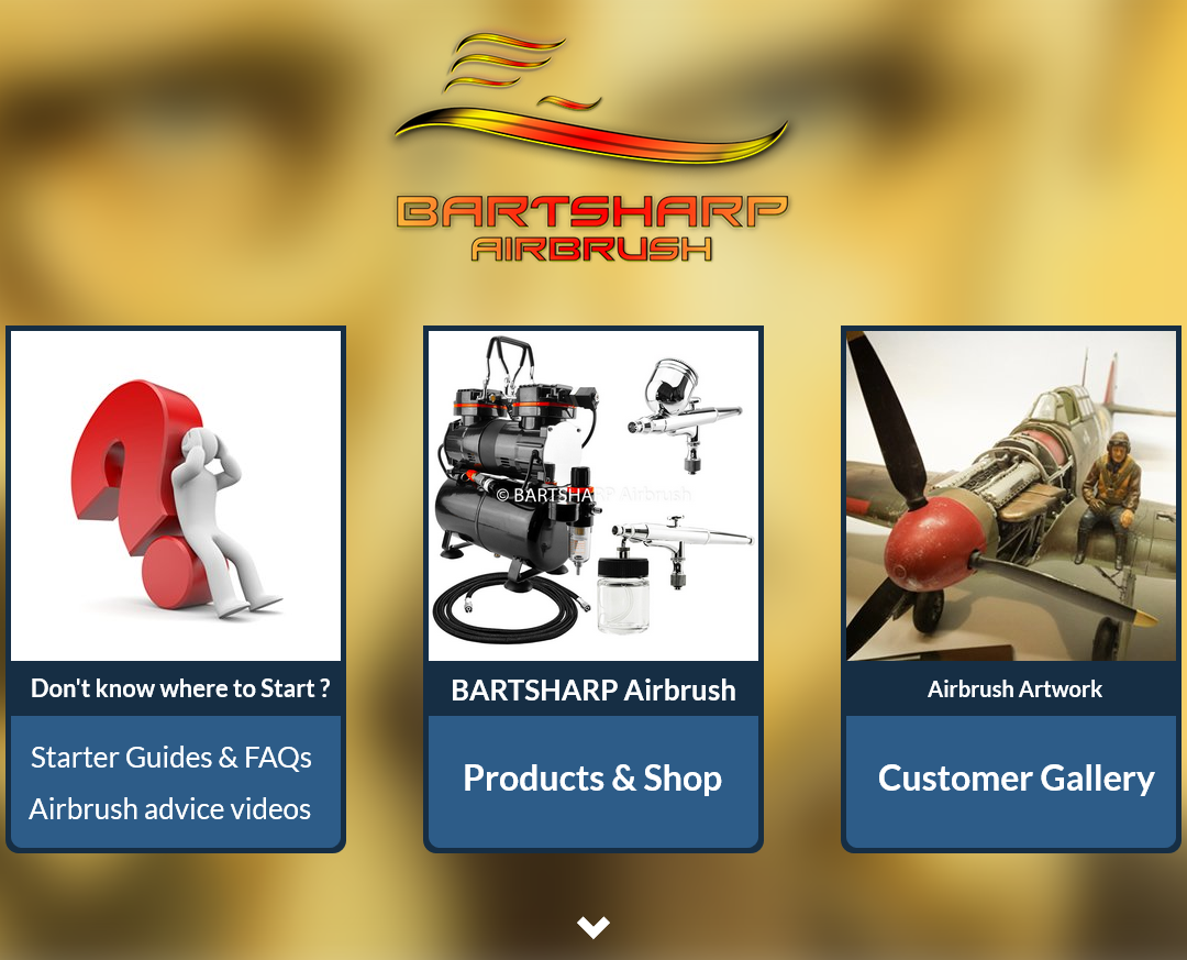 BARTSHARP Airbrush New Website