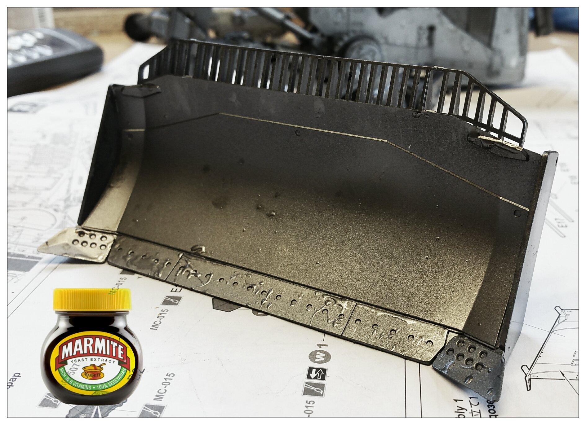 Marmite Chipping Process BARTSHARP Airbrush
