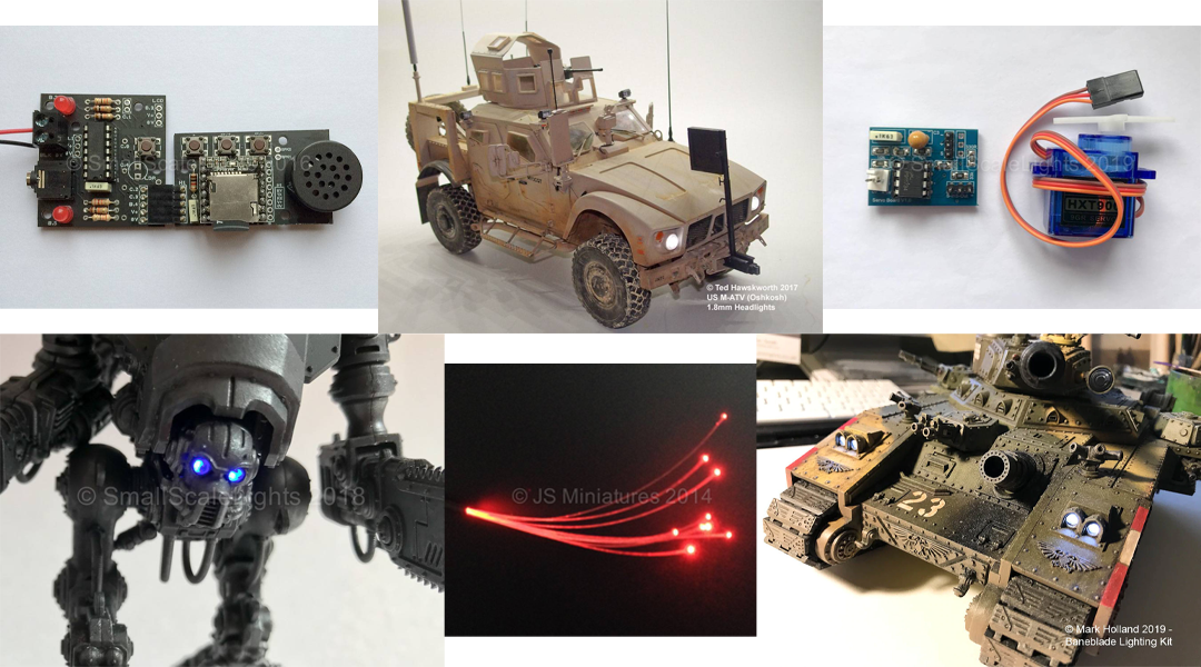 LED Lights For Scale Models
